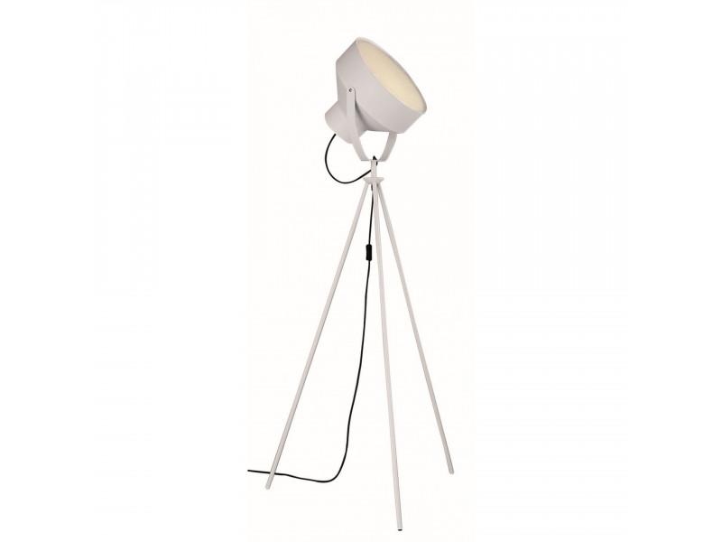 Floor lamp tripod in white